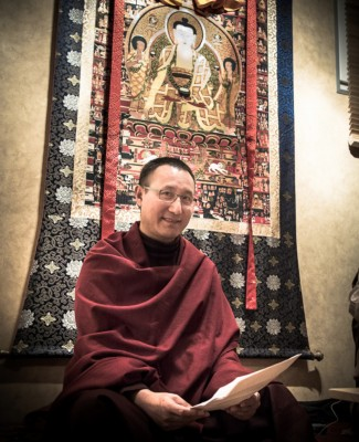 Lodreu Rabsel Rinpoché - Centre Vimalakirti 2012